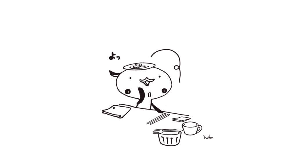 お皿かさねる